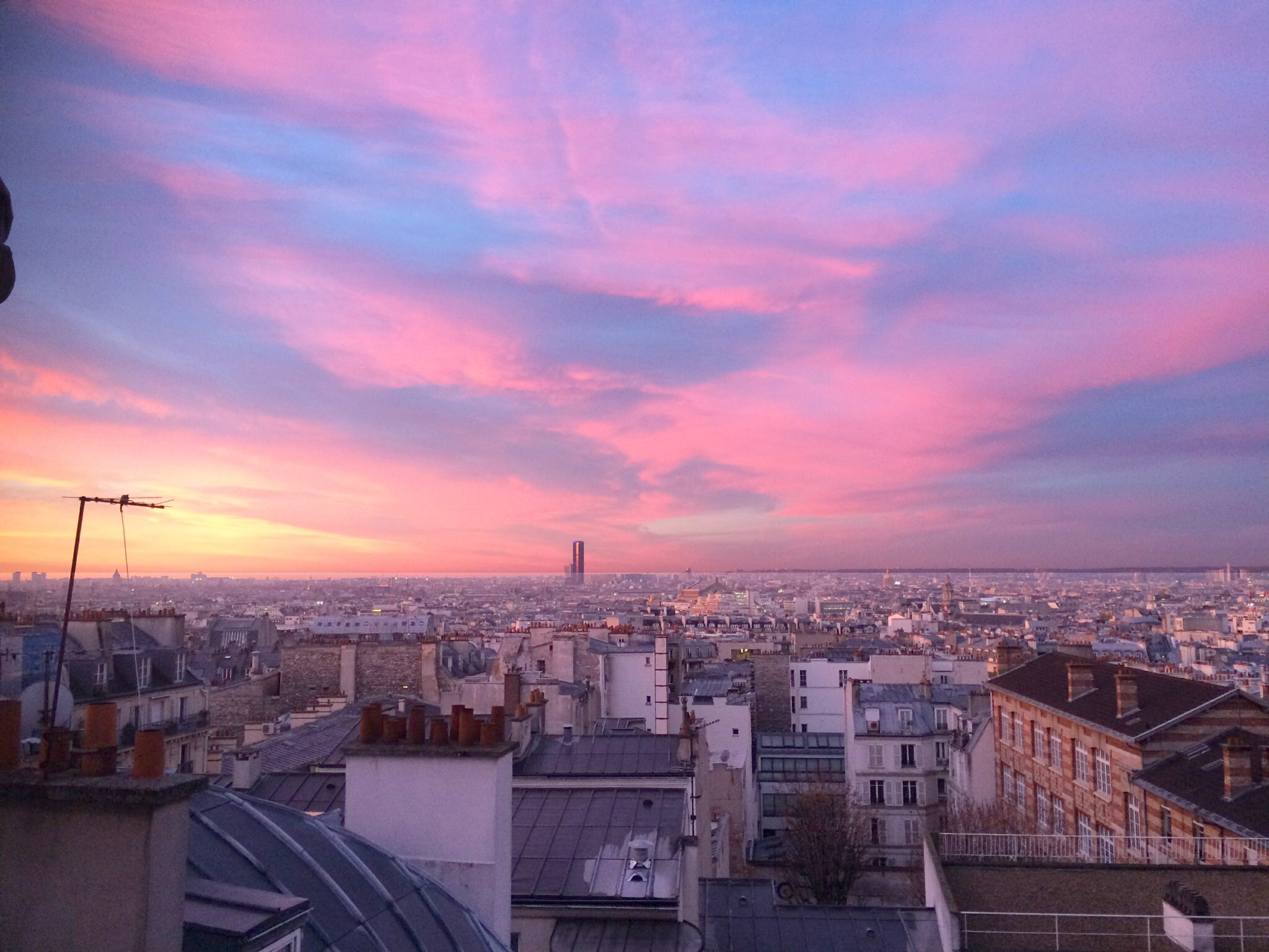 Sunrise from Abbesses