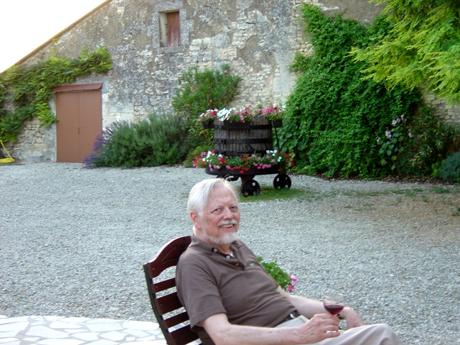 La Cigogne, beautiful retreat              north of Bordeaux - June 2005